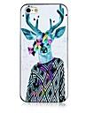 David's Deer Pattern Black Frame Back Case for iPhone 5/5S