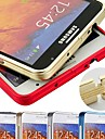 DSB® Premium Aircraft Aluminium 0.7 mm Ultra Thin Slim Frame Bumper Case Cover for Samsung Note 3
