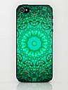 Green Mandala  Pattern Hard Case for iPhone 5/5S
