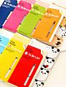 ζώο καρτούν ένα προς ένα scrapbooking σημειώσεις αυτο-stick (τυχαία χρώμα)