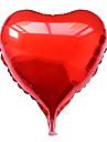 10 인치 퍼플 하트 알루미늄 막 발렌타인 데이 파티 풍선