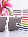 de bonbons de couleur de cas de retour avec support pour Samsung Galaxy Note 3 (de couleurs assorties)