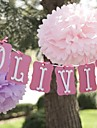 14 inch Paper Flower Party Decorations - Set of 4 (More Colors)