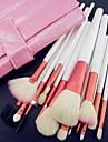 18 Conjuntos de pincel Escova de Cabelo de Cabra / Pelo Sintetico / Escova de Nailom / Outros Rosto / Labio / Olhos Outros
