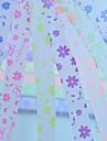 2x 30 piezas fluorescentes mariposa effec y flores materiales origami patron Lucky Star (color al azar)