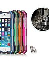 5.5 Inch RJUST® RoboCop Aluminum Alloy Hard Back Cover for iPhone 6   plus (Assorted Colors)