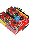 V2 3D Printer Driver Expansion Board for Arduino - Red