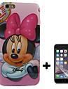 Pour Coque iPhone 6 / Coques iPhone 6 Plus Motif Coque Coque Arrière Coque Dessin Animé Flexible TPU iPhone 6s Plus/6 Plus / iPhone 6s/6