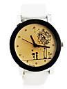 Unisex Romantic  Style PU Band Quartz Wrist Watch (Assorted Colors) Cool Watches Unique Watches