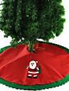 1set Santa Tree Skirts Christmas Novelty Party, Holiday Decorations Holiday Ornaments