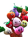 Fruit Finger Puppets Puppets Cute Novelty Talk Prop Lovely Smiling Face Cartoon Textile Plush Girls Boys