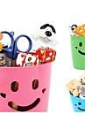πλαστικά κουτιά αποθήκευσης χαμόγελο πολυλειτουργικό δοχείο (τυχαία χρώμα)