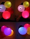 Coway etoiles eclairer le ballon rempli d\'etoiles imprimees LED impression ballon (couleur aleatoire)