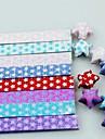 18 τεμ flash φωτεινή τυχεροί υλικά origami αστέρι (τυχαία χρώμα)