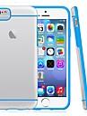 df® ultra fino cor pura transparente tampa da caixa fina para iPhone 6 Plus (cores sortidas)