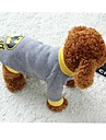 Cat Dog Costume Shirt / T-Shirt Dog Clothes Cosplay Cartoon Gray Costume For Pets