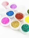 12PCS Multi-color Mini Glitter Sequins DIY Craft Art Decorations