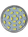 GU10 LED Spotlight MR16 21 leds SMD 5730 Decorative Cold White 450lm 6000-6500K AC 220-240V