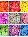 50pcs 4cm 10Colors Artificial Silk Sun Flower Daisy Head Home Wedding Party Favors Decorations Table Centrepieces