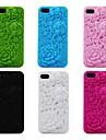 케이스 제품 iPhone 5 아이폰5케이스 엠보싱 텍스쳐 뒷면 커버 꽃장식 소프트 실리콘 용 iPhone SE/5s iPhone 5