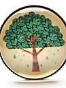 Time Gem Life Tree Art Tree Glass Cabochon Brooch (1 Piece)