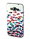 2-in-1 Many Colorful Heart Pattern TPU Back Cover with PC Bumper Shockproof Soft Case for Samsung Grand Prime G530 G530H