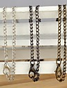 Bronze / Black / White Chain Necklaces Alloy Daily / Casual Jewelry