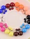 여성 스터드 귀걸이 의상 보석 펄 보석류 제품 결혼식 파티 일상 캐쥬얼 스포츠