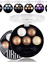 6pcs Eye Shadow Powder Daily Makeup / Smokey Makeup / Matte / Shimmer