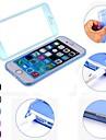 DF 단색 아이폰 6 투명 TPU 풀 바디 케이스를 마무리 플러스 (모듬 색상)