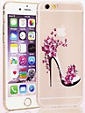 Fashion High Heels PC Transparent Hard Case for iPhone 6 iPhone Cases