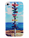 Road Wood Signs Pattern Hard Case for iPhone 4/4S
