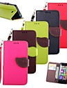KARZEA™ Leaf Mixed Colors TPU Leather Full Body With Stand and Stylus for Nokia Lumia N630 (Assorted Colors)