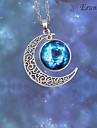 Eruner®Nebula Galaxy Cabochon Necklace