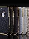 a pele de cobra simulação padrão decorativo proteção shell telefone móvel para iPhone 5 / 5s (cores sortidas)