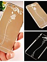 Musical Note Pattern Transparent Back Case for iPhone 6
