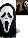 Белый Призрак Маска с головных уборов Scream Розыгрыш Scary Гаджеты Косплей для Хеллоуин костюм партии