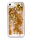 золотой установка сердце, как песочных часов образец пластиковой Футляр для IPhone 5 / 5S