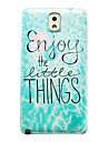 Waves Pattern Thin Hard Case Cover for Samsung Galaxy Note 3