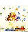 벽 스티커 벽 데칼, 스타일 디즈니 만화 PVC 벽 스티커