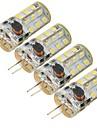 G4 LED Corn Lights 27 SMD 2835 300 lm Cold White 6000 K Decorative DC 12 AC 12 V