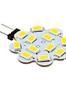 2W G4 LED à Double Broches 12 SMD 5630 250 lm Blanc Chaud Blanc Froid 3500/6000 K DC 12 V