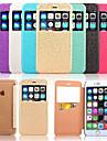 용 아이폰6케이스 / 아이폰6플러스 케이스 윈도우 / 플립 케이스 풀 바디 케이스 타일 하드 인조 가죽 iPhone 6s Plus/6 Plus / iPhone 6s/6