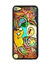 Graffiti Leather Vein Pattern Hard Case for iPod touch 5 iPod Cases/Covers