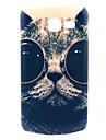 óculos de sol padrão de design gato cobertura caso difícil para samsung galaxy tendência Lite s7390 / s7392