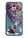 개인 전화 케이스 - 삼성 갤럭시 S5 i9600에 대한 풍선 디자인 금속 케이스