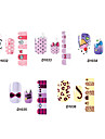 14pcs mooie cartoon stijl nail art stricker d serie no.32-36 (assorti patroon)