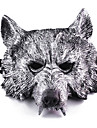 Halloween Masks Masquerade Masks Toys Wolf Head Plastic Horror Theme 1 Pieces Boys\' Girls\' Halloween Masquerade Gift