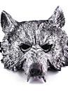 Halloween Masks Masquerade Masks Toys Wolf Head Plastic Horror Theme 1 Pieces Boys\' Girls\' Halloween Masquerade Gift