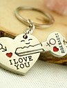 Keychain Jewelry Alloy Cute Lovers Love Daily Wear Men\'s Women\'s